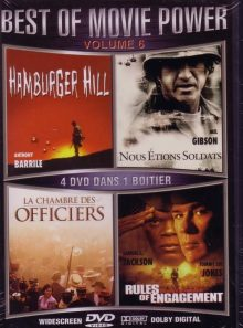 Best of movie power - vol. 6 - hamburger hill, nous etions soldats, la chambre des officiers, rules of engagement