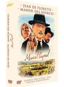 Jean de florette + manon des sources - coffret marcel pagnol - pack