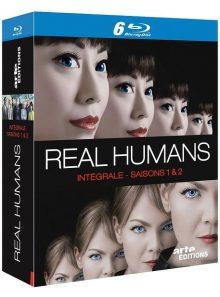 Real humans - intégrale saisons 1 et 2 - blu-ray