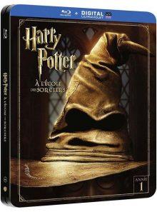 Harry potter à l'école des sorciers - édition limitée boîtier steelbook - blu-ray