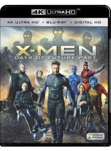 X-men : days of future past - 4k ultra hd + blu-ray + digital hd