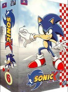 Sonic x - coffret 6 (4 dvd) : episodes 66 à 78