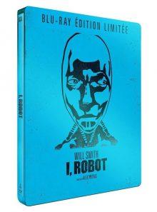 I, robot - édition limitée boîtier steelbook - blu-ray