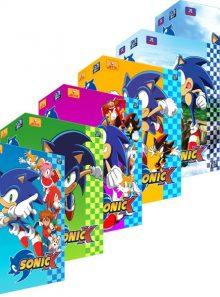 Sonic x - intégrale - pack 6 coffrets (24 dvd)