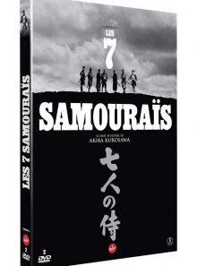 Les 7 samouraïs - édition 2 dvd