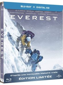 Everest - blu-ray + copie digitale - édition boîtier steelbook