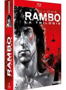 Rambo - la trilogie - blu-ray