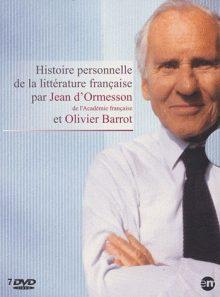 Histoire personnelle de la littérature française