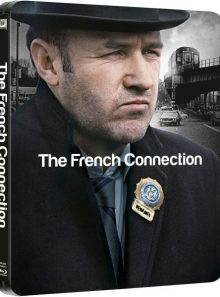 The french connection - steelbook edition blu-ray