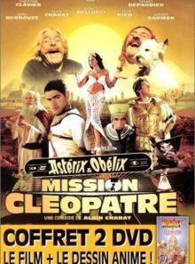 Astérix & obélix : mission cléopâtre + astérix et cléopâtre - coffret - pack