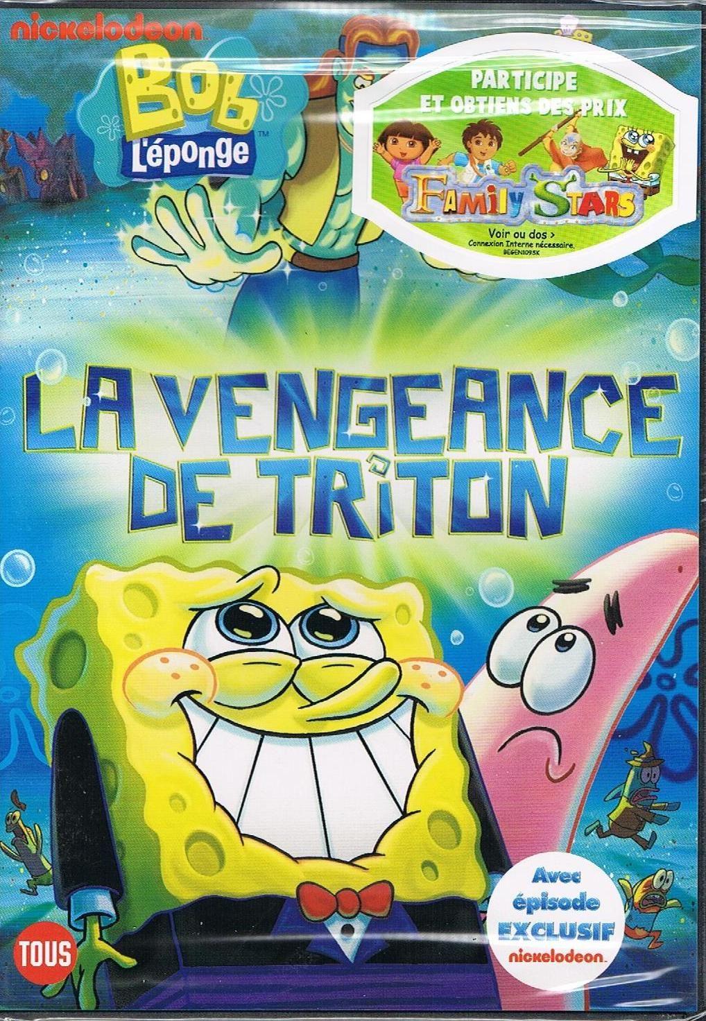 Bob l'éponge : triton - dvd : Louez ou achetez en VOD, DVD ...