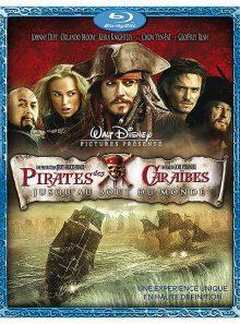 Pirates des caraïbes : jusqu'au bout du monde - édition 2 blu-ray