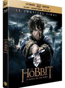 Le hobbit : la bataille des cinq armées - combo blu-ray 3d + blu-ray + copie digitale - visuel lenticulaire