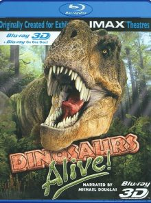 Dinosaurs alive! 3d - blu-ray 3d