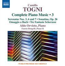 Camillo togni complete piano music