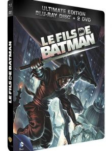 Le fils de batman - ultimate edition boîtier steelbook - combo blu-ray + 2 dvd