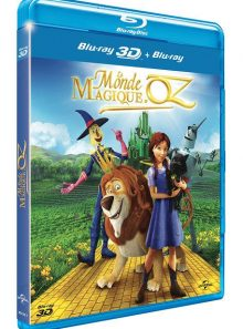 Le monde magique d'oz - blu-ray 3d & 2d + copie digitale
