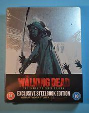 The walking dead - l'intégrale de la saison 3 - édition limitée boîtier steelbook - blu-ray