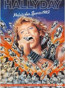 Johnny hallyday - palais des sports 1982
