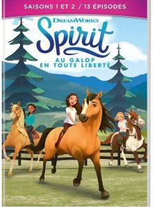 Spirit, au galop en toute liberté - saisons 1 et 2