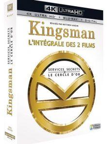 Kingsman : services secrets + kingsman 2 : le cercle d'or - 4k ultra hd - blu-ray