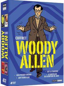 Woody allen - coffret - hollywood ending + anything else (la vie et tout le reste) + lily la tigresse + le sortilège du scorpion de jade - pack