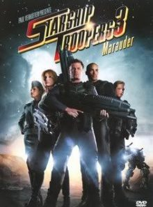 Dvd starship troopers 3 marauder