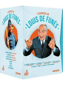 L'essentiel de louis de funès - coffret 8 dvd - pack