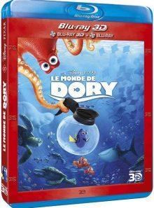 Le monde de dory - combo blu-ray 3d + blu-ray 2d + blu-ray bonus