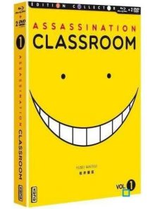 Assassination classroom - box 1 - combo collector blu-ray + dvd