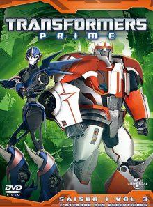 Transformers prime - volume 3 : l'attaque des decepticons