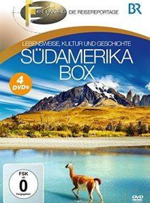 Fernweh - lebensweise, kultur und geschichte: südamerika box (4 discs)