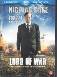 Lord of war  avec nicolas cage combopack 1080p blu-ray  + dvd