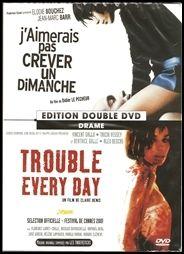 J'aimerais pas crever un dimanche - trouble every day - coffret 2 dvds