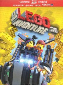 La grande aventure lego - édition ultimate - blu-ray 3d + blu-ray + dvd + copie digitale