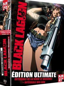 Black lagoon - intégrale de la série (2 saisons) + intégrale des oav - ultimate edition - blu-ray