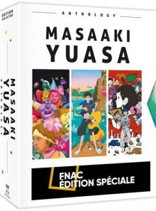 Coffret masaaki yuasa anthology 3 films edition limitée fnac blu-ray
