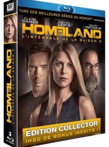 Homeland - l'intégrale de la saison 3 - édition collector - blu-ray