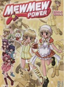 Mew mew power saison 2 vol 4 - single 1 dvd - 1 film