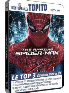 The amazing spider-man - blu-ray + dvd - édition boîtier métal futurepak
