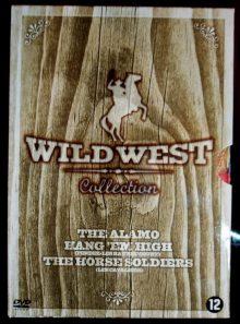 Coffret wild west: the alamo - pendez-les haut et court - les cavaliers