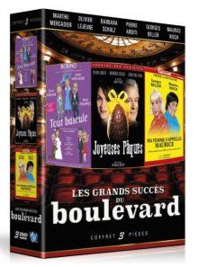 Les grands succés du boulevard : joyeuses pâques + ma femme s'appelle maurice + tout bascule - pack