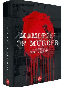 Memories of murder - édition ultime limitée - blu-ray + dvd + livret + storyboard