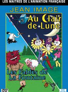 Collection les maîtres de l'animation française - jean image : au clair de lune & les fables de la fontaine
