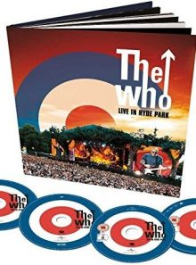 The who - live in hyde park (limited edition, + dvd, + audio-cd)