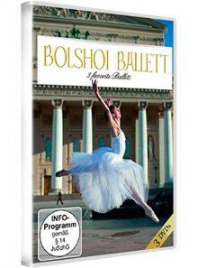 Casse-noisette/cendrillon/bajazzo : ballets du bolshoï