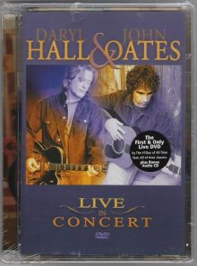Daryl hall & john oates - live in concert - cd & dvd
