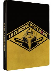 Le cuirassé potemkine - combo blu-ray + dvd - version restaurée
