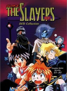The slayers next collection (episodes 27 52)
