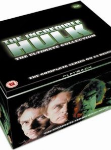 The incredible hulk - series 1-5 - complete